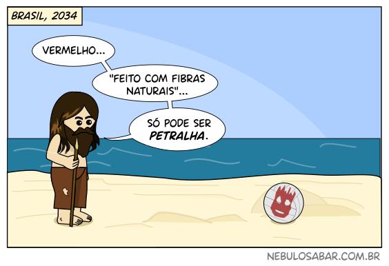 Se o filme do Tom Rênquis se passasse no Brasil de 2019... Náufrago: Vermelho... feito com fibras naturais... só pode ser petralha. Bola de vôlei: armado... barba hipster... só pode ser bolsominion.
